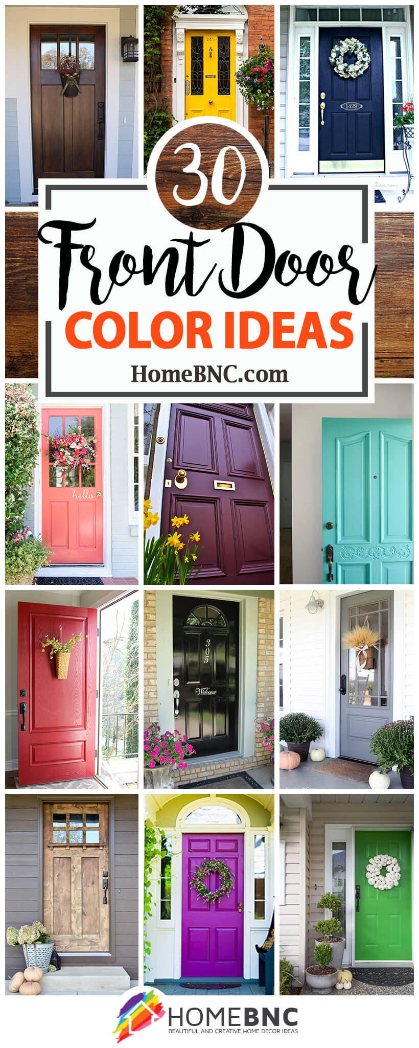 Entry Door Paint Ideas