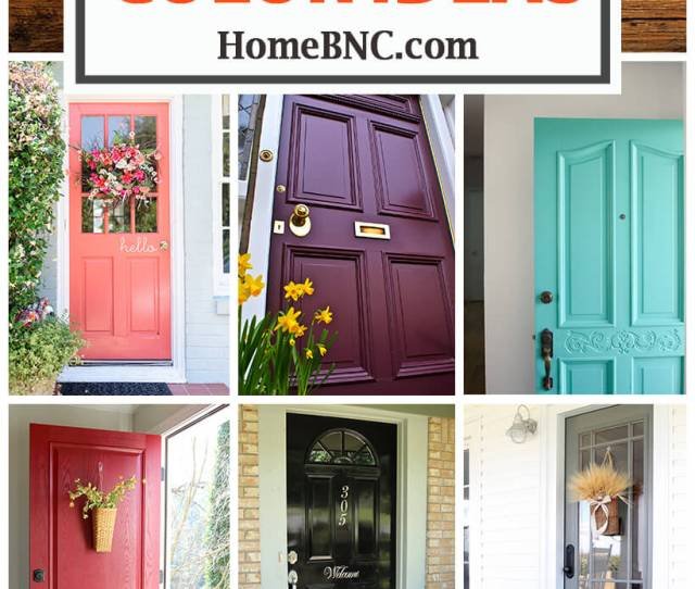 Amazing Front Door Color Ideas For A Cute And Kitschy Home