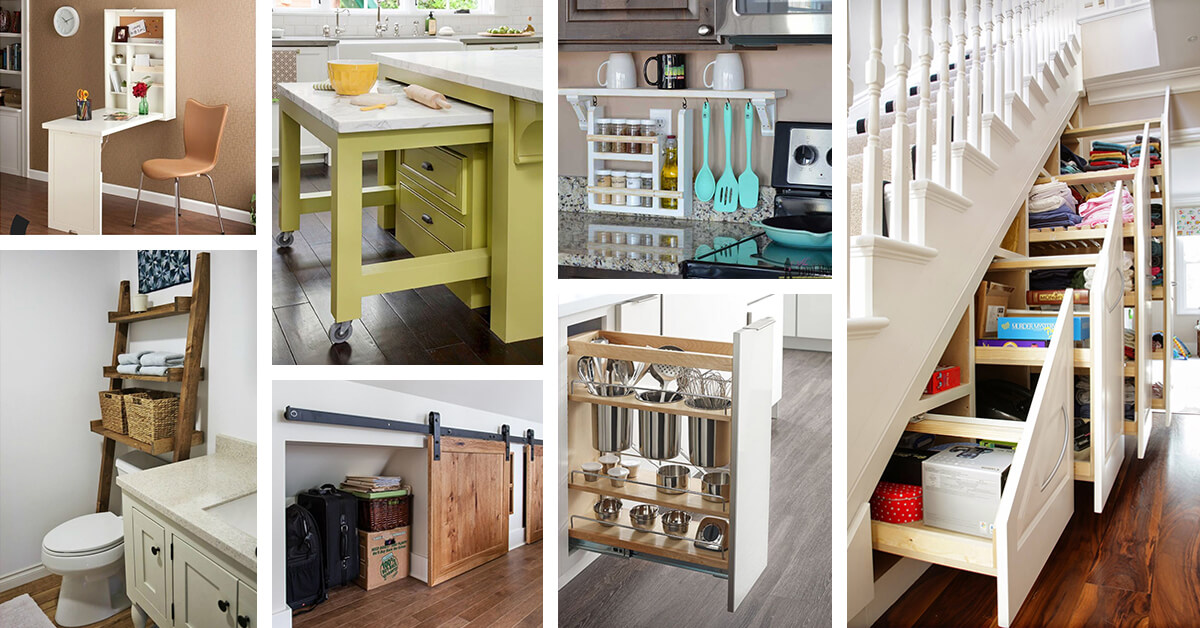 40 Best Space Saving Ideas And Projects For 2020