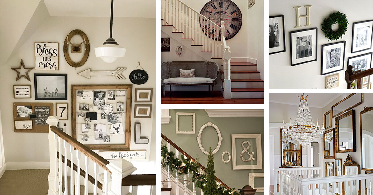 Stairway Wall Decorating Ideas
