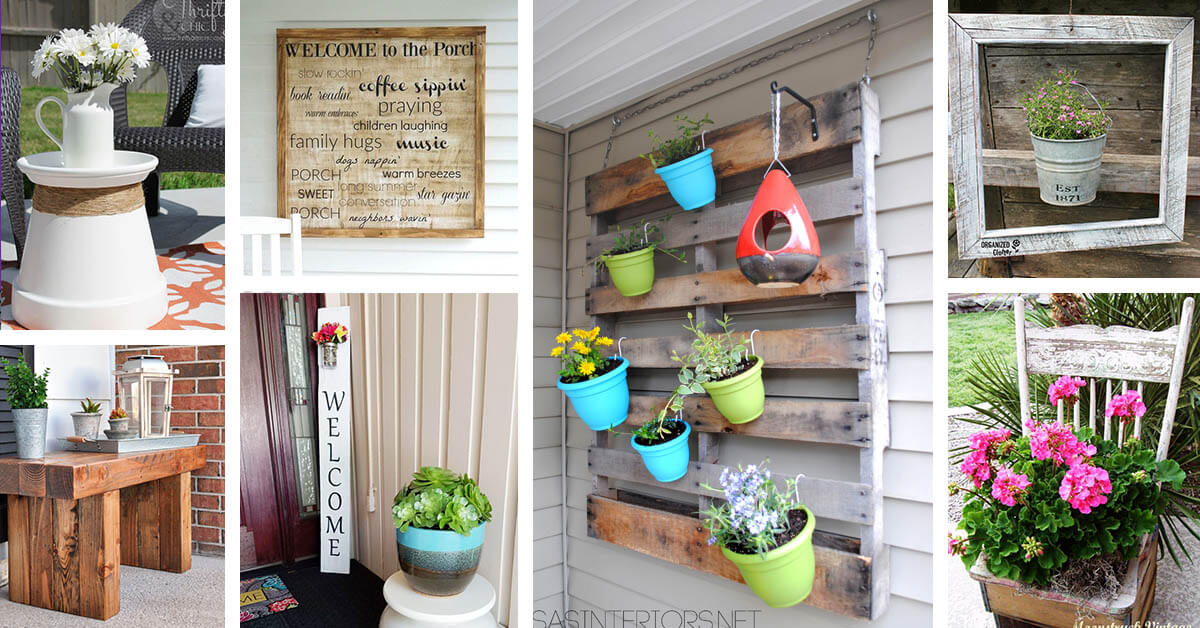 Diy Deck Decor 32 Best Diy Porch And Patio Decor Ideas And Designs For 2018