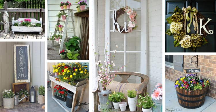 30 Best Rustic Spring Porch Decor Ideas And Designs For 2021