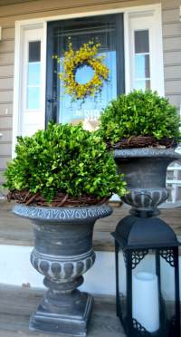 45+ Best Porch Planter Ideas and Designs for 2018