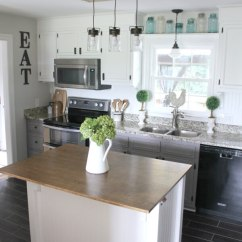 Kitchen Towel Hanging Ideas Small Outdoor Island 35+ Best Diy Farmhouse Decor Projects And ...