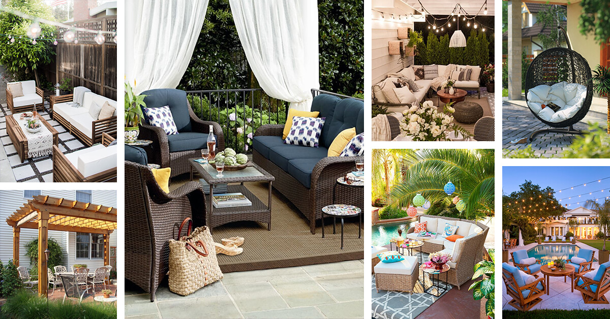 33 Best Outdoor Living Space Ideas And Designs For 2020