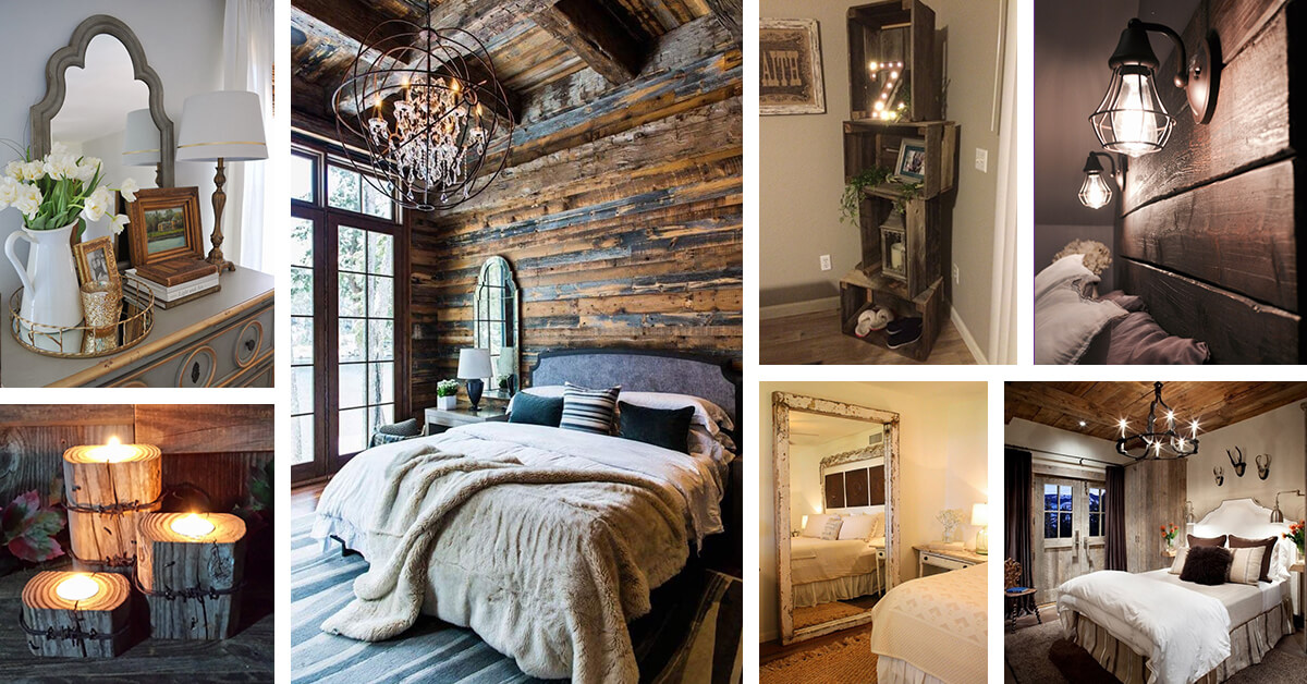 26 Best Rustic Bedroom Decor Ideas and Designs for 2019