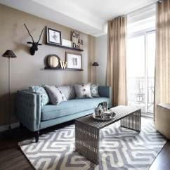 Small Living Room Ideas Blue Paintings 25 Best Decor And Design For 2019 Calming Sofa Geometric Rug