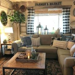 Living Room Ideas 2018 Studio Bedroom 25 Best Small Decor And Design For 2019 Inviting Farmhouse With Buffalo Plaid