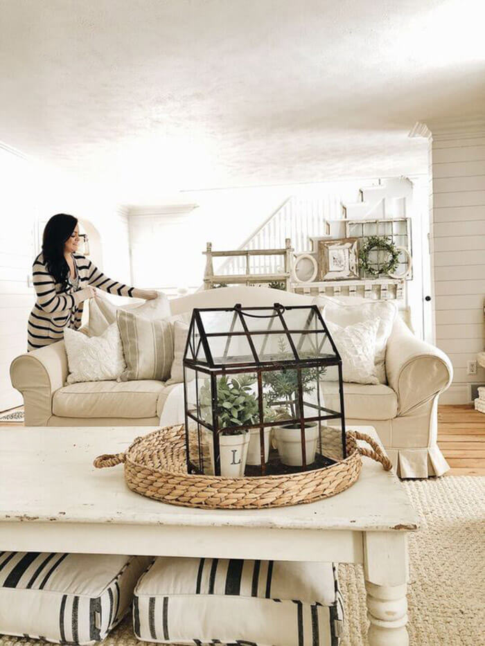 hanging basket chair indoor portable booster 36 best farmhouse plant decor ideas and designs for 2018