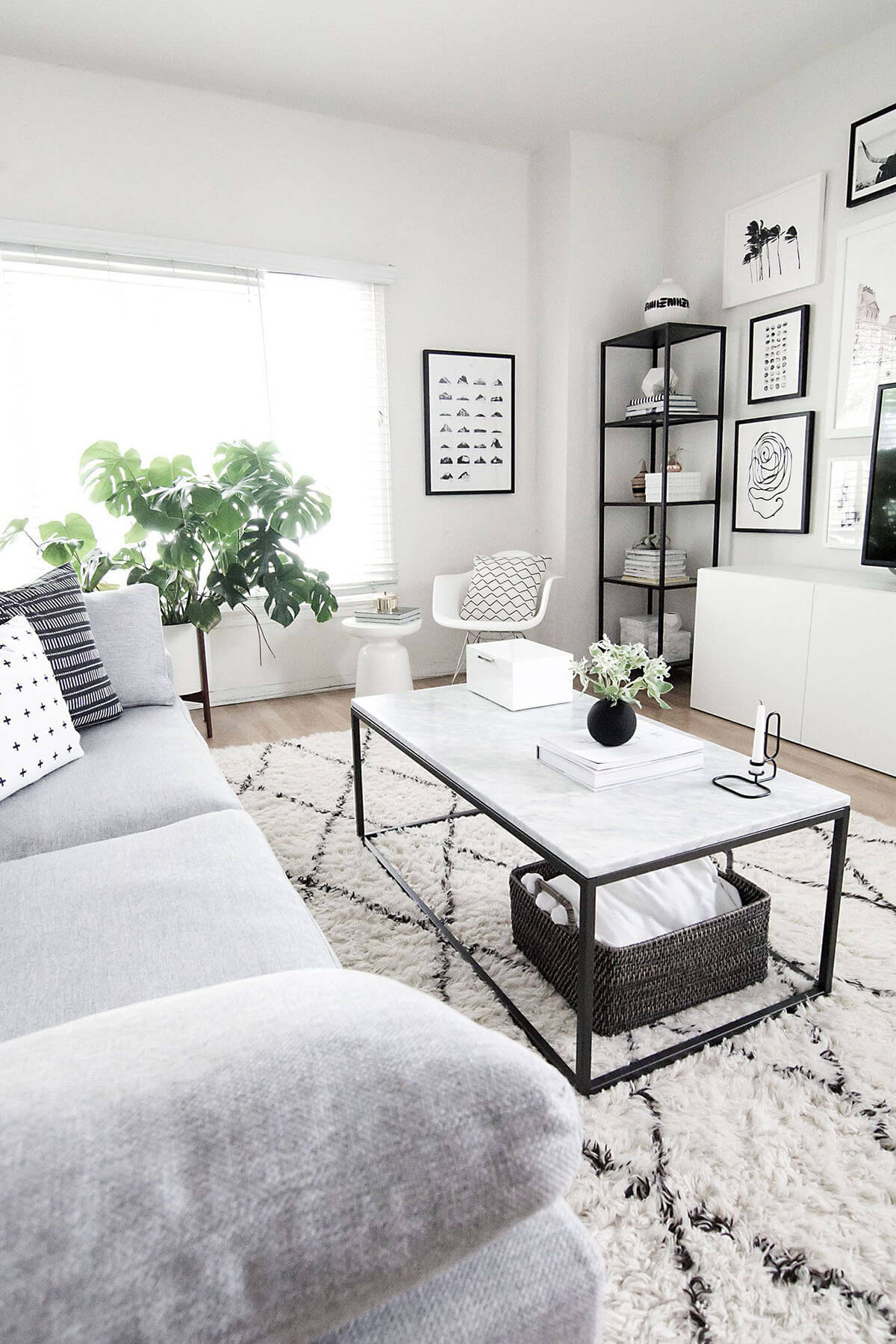 pictures of white living rooms small modern ideas 25 best room decor and design for 2019 comfortable gray black