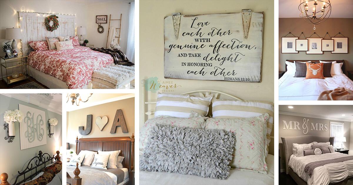 25 best bedroom wall