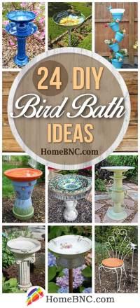 24 Best DIY Bird Bath Ideas and Designs for 2019