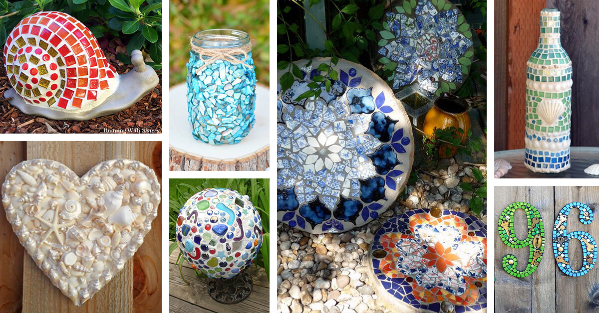 35 Best Diy Mosaic Craft Ideas And Projects For 2020