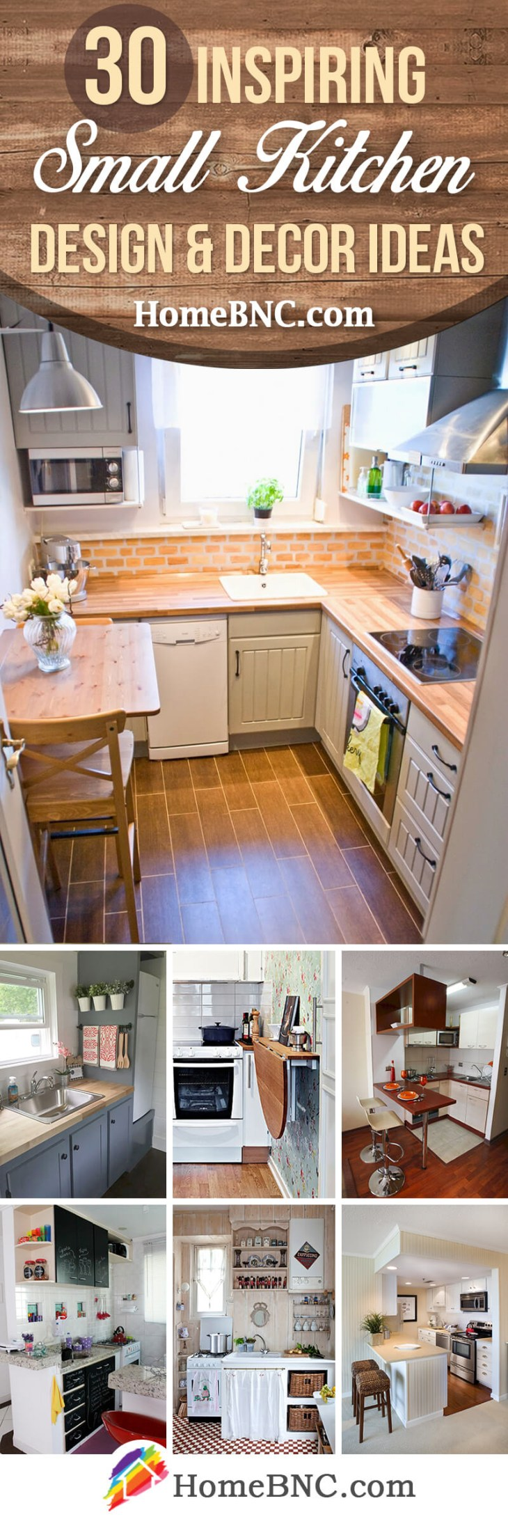 30 Amazing Small Kitchen Design and Decor Ideas to Make Your Space Uniquely  Yours