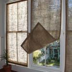 Easy Burlap Curtains With Side Hooks Homebnc