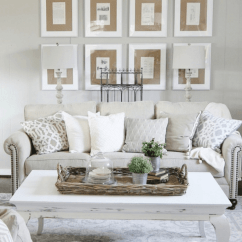 Wall Decorations For Living Room Pictures Of Beautiful Bedrooms And Rooms 33 Best Rustic Decor Ideas Designs 2019 Simple Display Tan Matted Photos Source Thistlewoodfarms Com This
