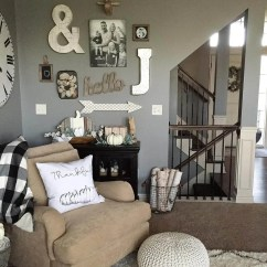 Rustic Living Rooms Grey And Yellow Colour Scheme Room Charming Wall Decor Ideas Homebnc