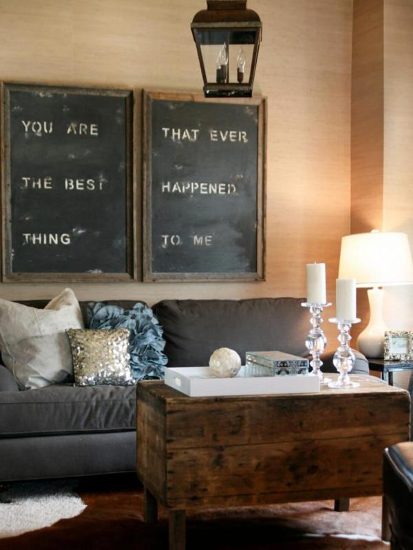 Rustic Living Room Wall Decor Ideas And Design