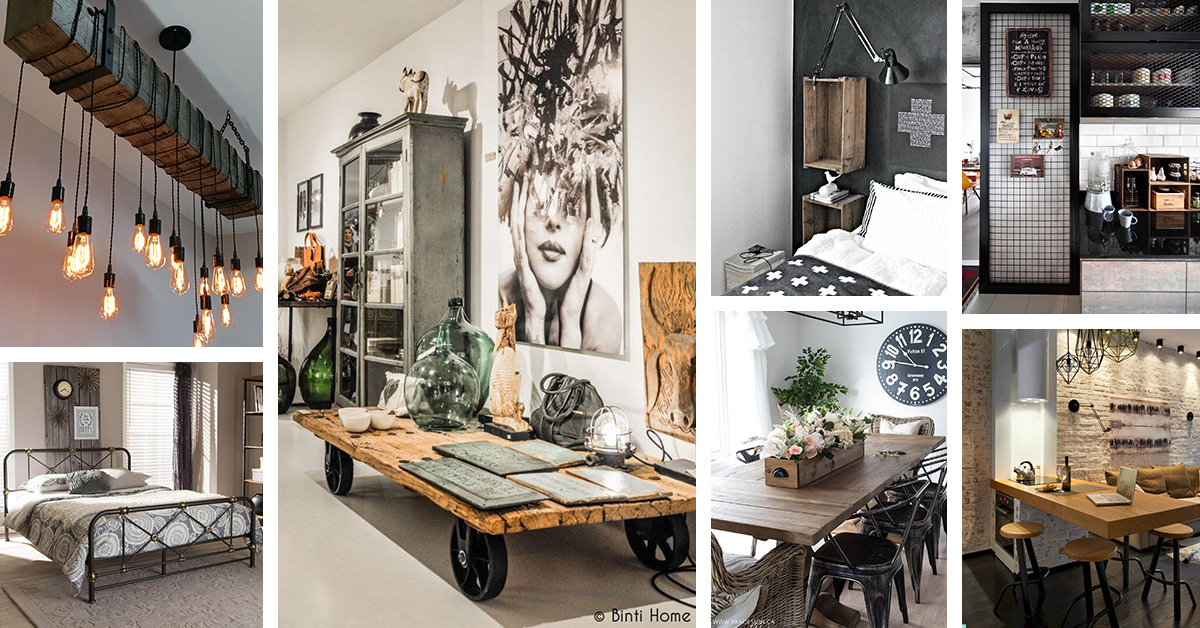 36 Best Industrial Home Decor Ideas And Designs For 2019