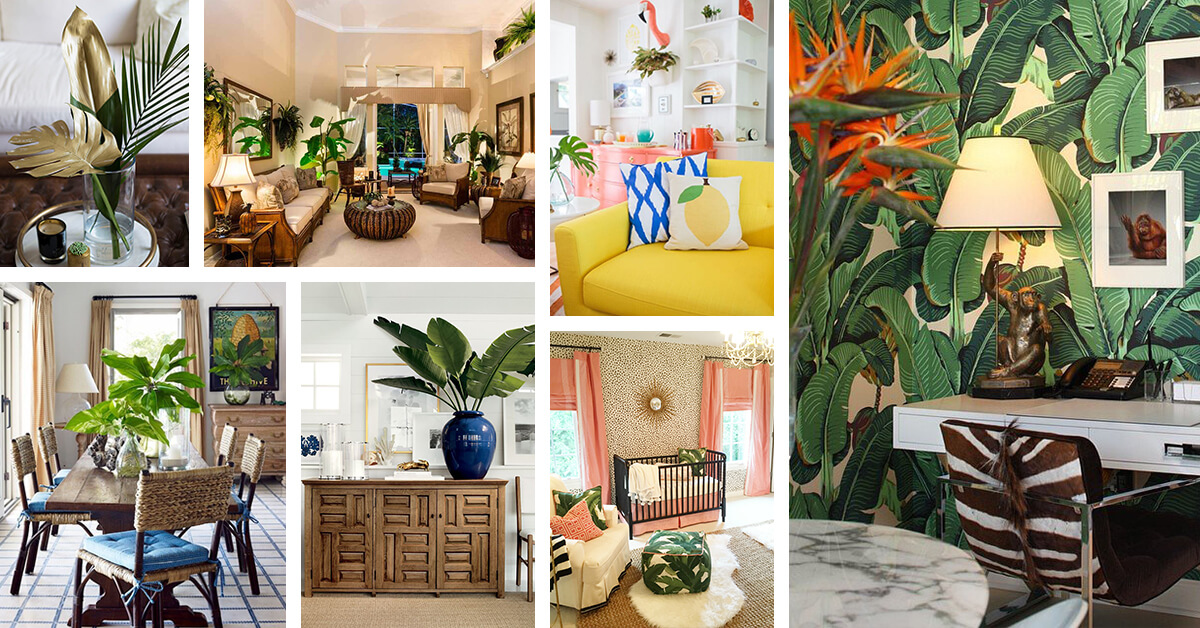 tropical living room decorating ideas toy storage for small 38 best style and designs 2019 gorgeous that are perfect summer