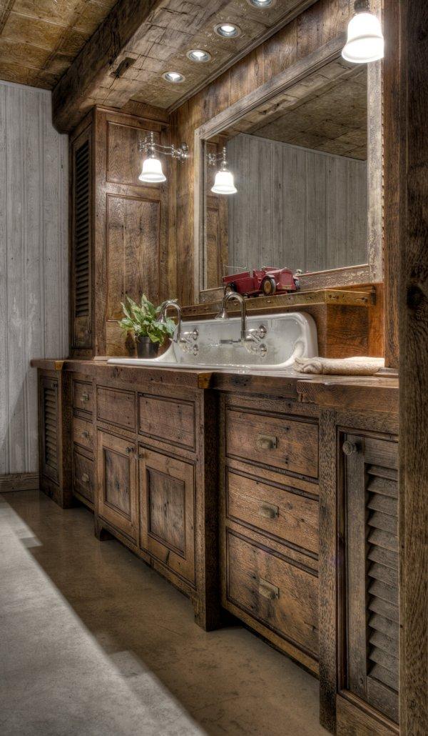 Rustic Bathroom Vanity Ideas And Design 2019