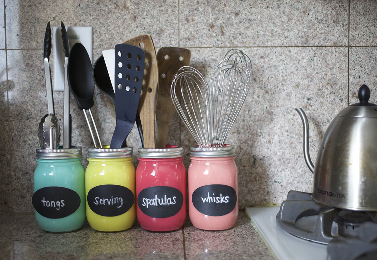 32 Best Mason Jar Organizer Ideas And Projects For 2020