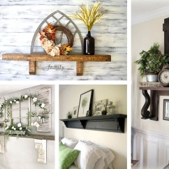 Decorate Living Room With No Fireplace New Furniture Styles 18 Best Mantel Shelf Ideas Without A For 2019 Unique And Stylish