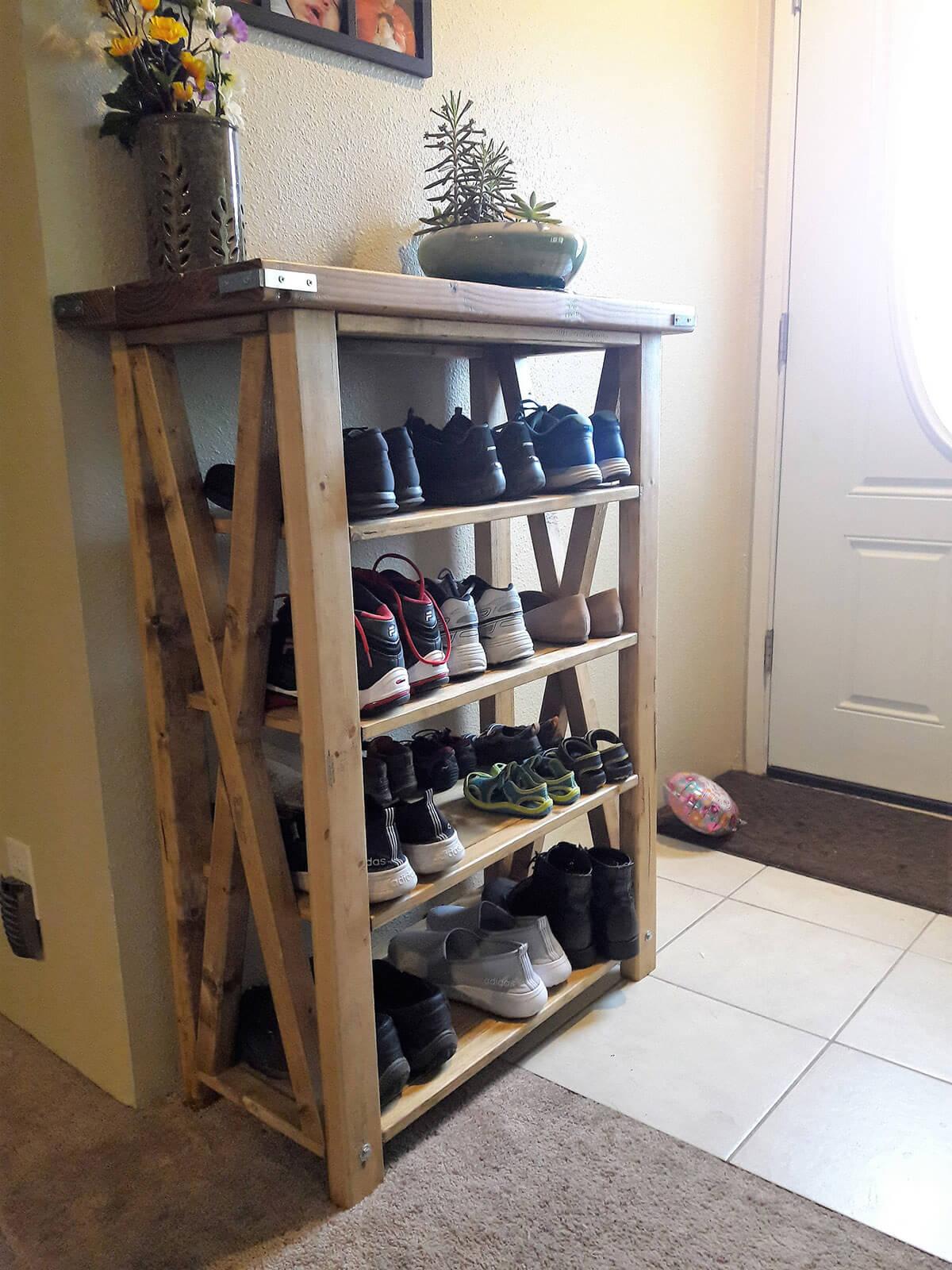 title | entryway shoe storage