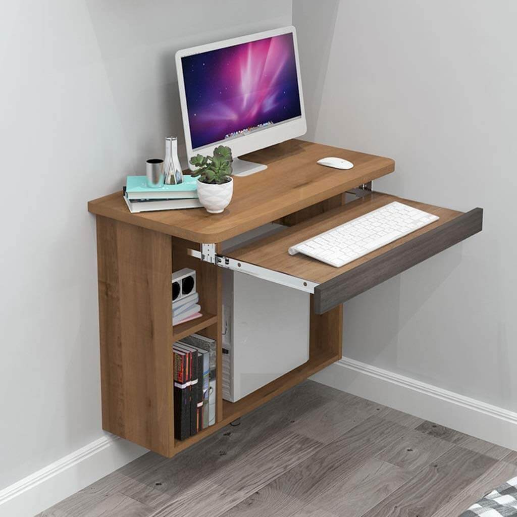 Computer Tower Wall Mounted Desk Design