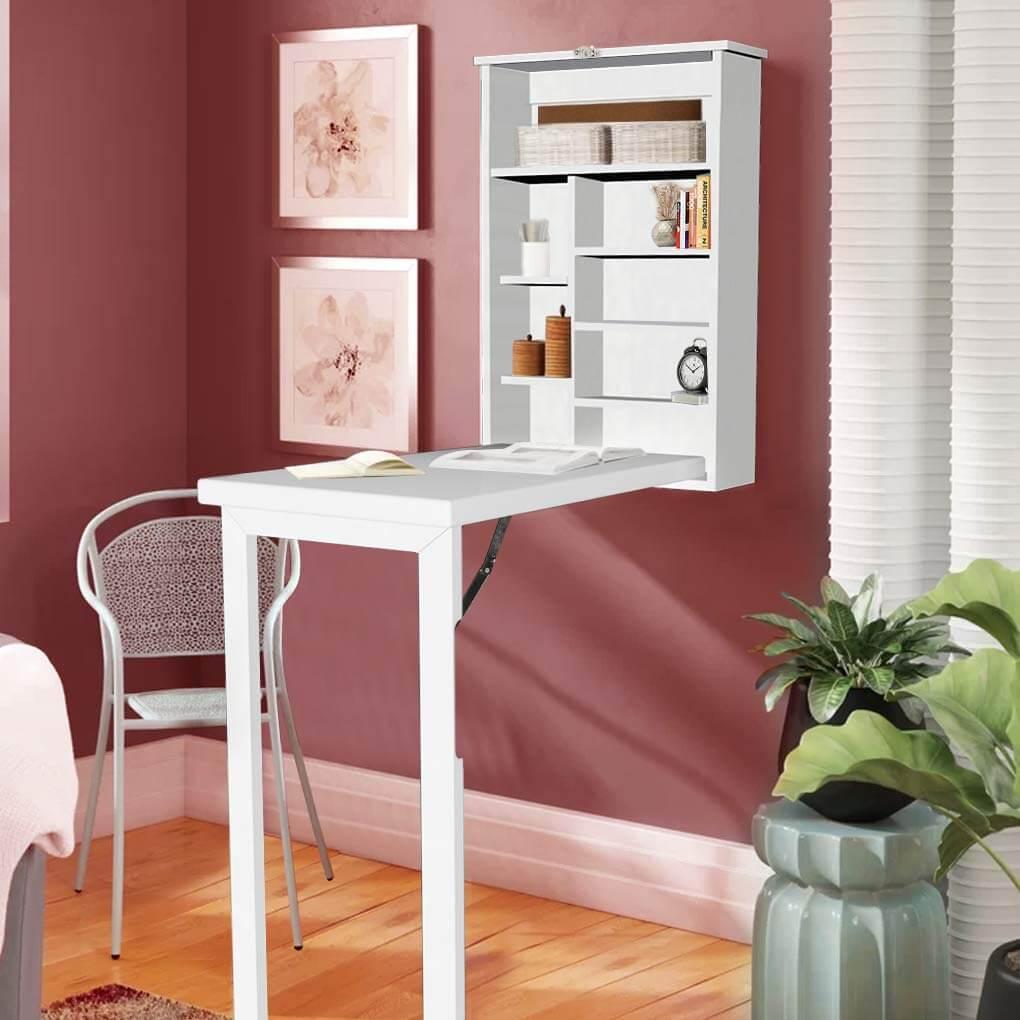 Fold Out Hidden Wall Desk Ideas