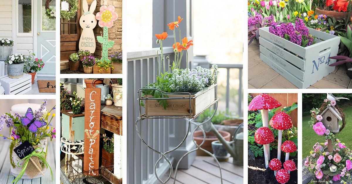 18 best outdoor spring decoration ideas