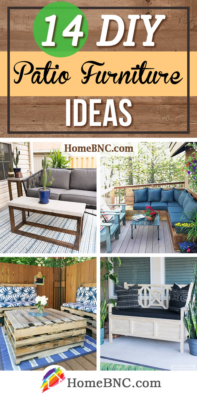 14 best diy patio furniture ideas and