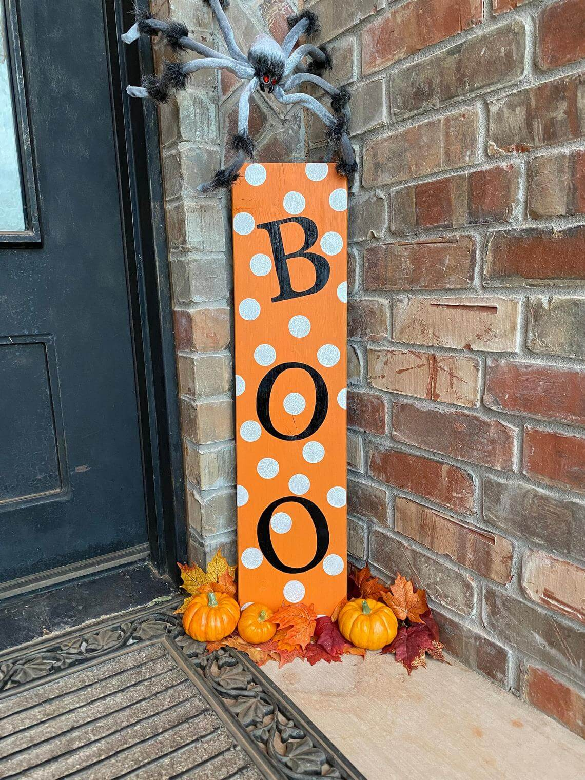Simply use loops of tape to press the silhouettes into place on the garage door. 50 Best DIY Halloween Outdoor Decorations for 2021