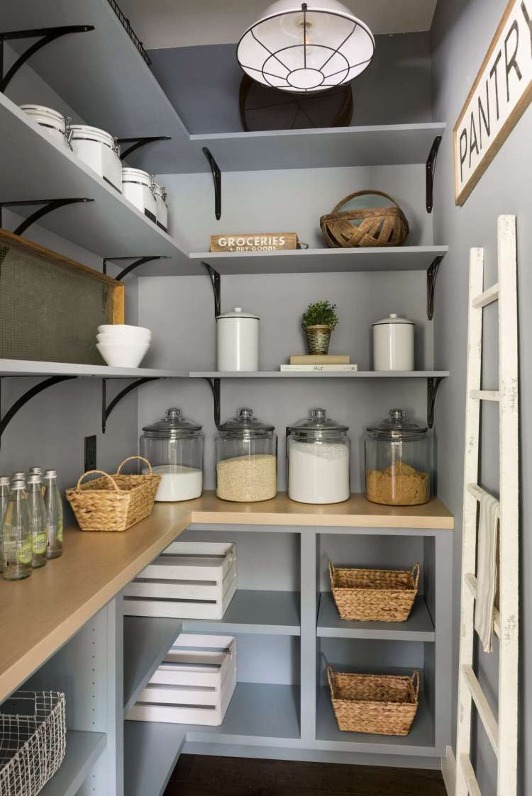 24 Best Pantry Shelving Ideas And Designs For 2021