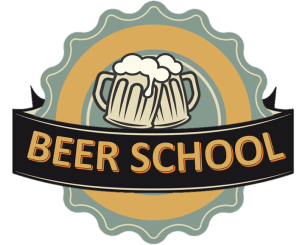 Logo do youtuber cervejeiro Beer School