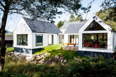 build bungalow self built budget 100k under homes handcrafted homebuilding houses modern cost bungalows plans single storey contemporary low scottish