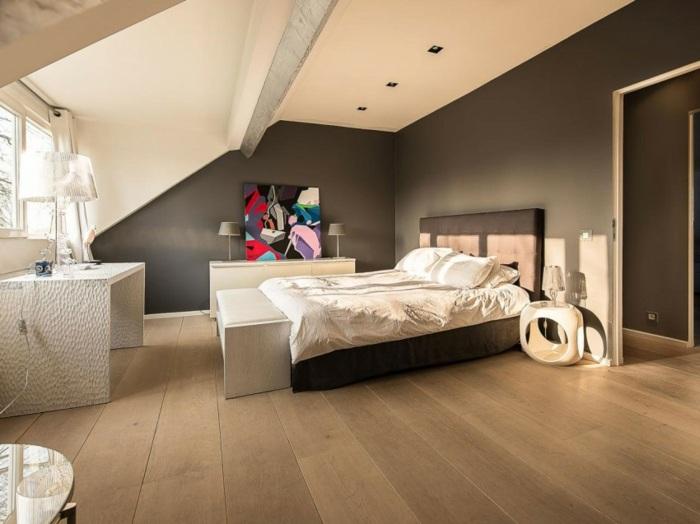 schlafzimmer ideen dachschr ge | sichtschutz - Schlafzimmer Ideen Mit Dachschrge
