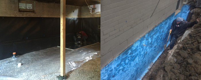 waterproofing your basement the right way