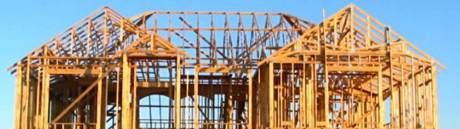 rough framing, home building schedule, stick framing, roof truss,