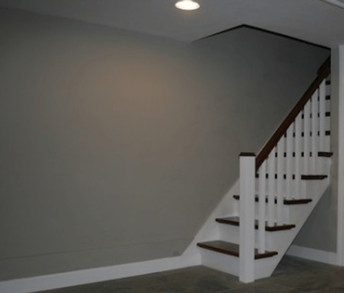 basement remodel entry area ideas