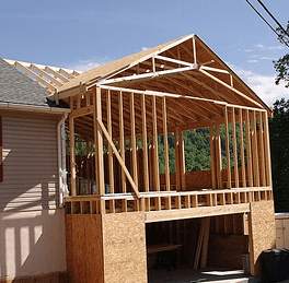 room addition, structural addition, addition design, garage addition
