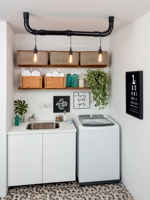 wall mounted vs deck mounted laundry