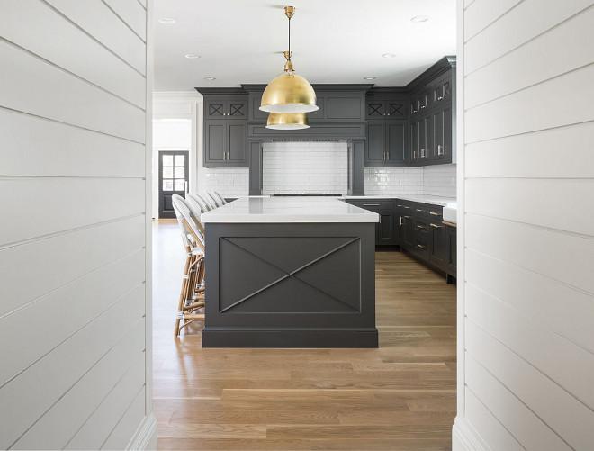 Farmhouse Kitchen Grey Walls Novocom Top