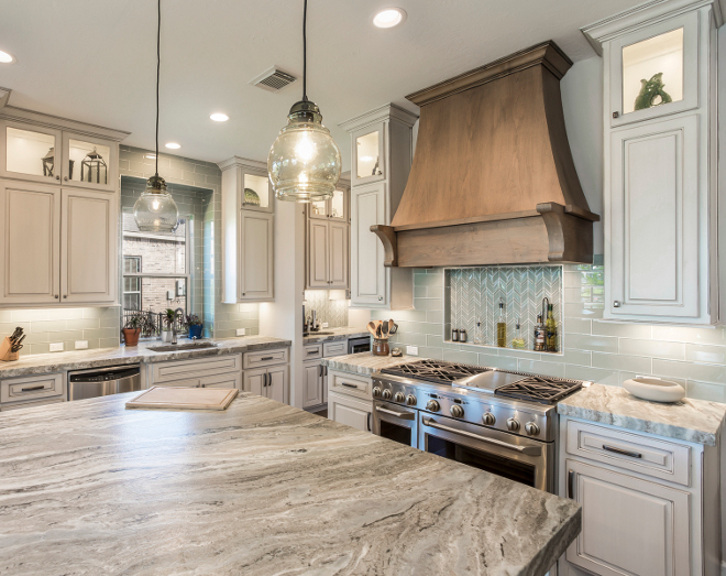 Ss Countertops Transitional Modern Farmhouse Kitchen Design - Home Bunch