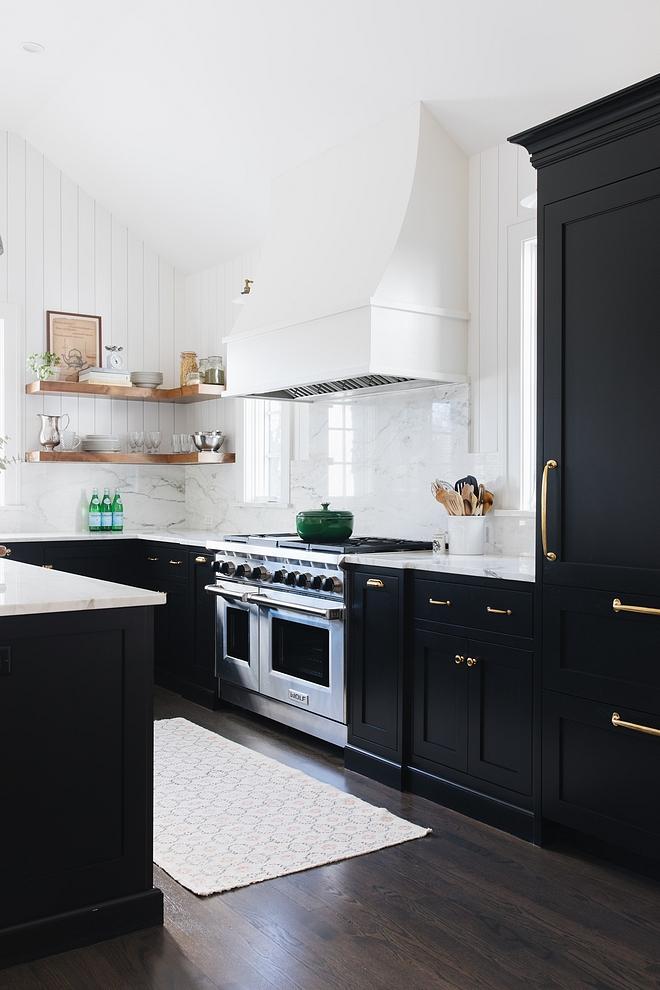 Benjamin Moore Black Onyx : benjamin, moore, black, Designer, Kitchen, Renovation, Bunch, Interior, Design, Ideas