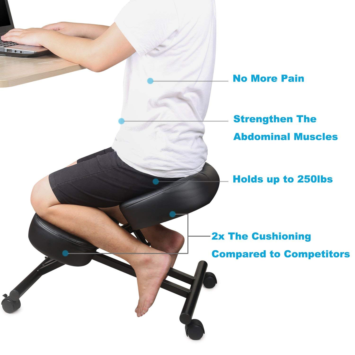 Ergonomic Chair Kneeling The 3 Best Ergonomic Kneeling Chairs A Buyers Guide