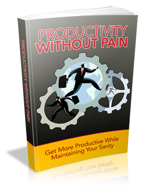 Productivity Without Pain Cover