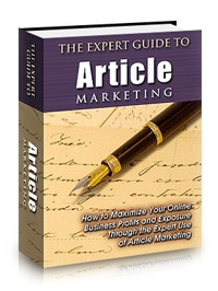 Expert Guide to Article Marketing Cover