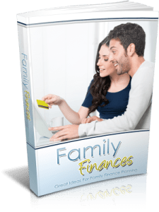 Family Finances Cover