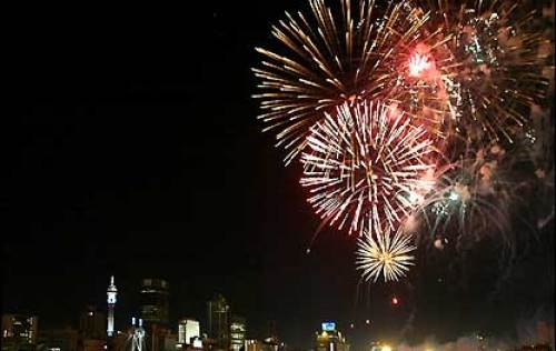 Johannesburg-South-Africa-New-Year-Fireworks